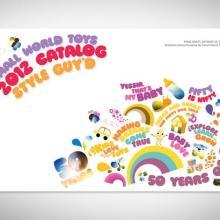 供应大浪玩具画册设计印刷大浪眼镜彩页设计大浪安防彩页设计批发