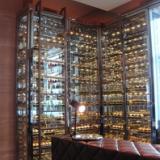 供应红酒庄品酒房装饰设计红酒架