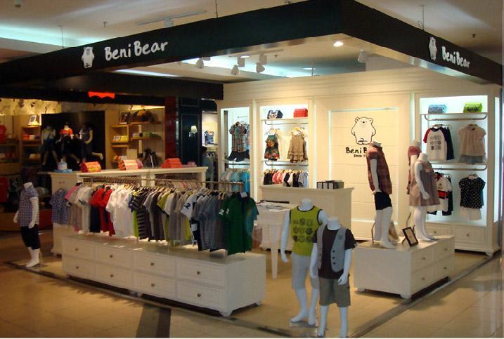 邦尼熊国际都市儿童时装店全面扩张