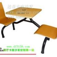 湛江高档快餐桌椅广州快餐桌椅图片
