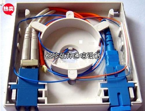 供应皮线光缆光纤桌面盒