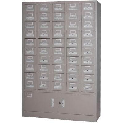 供应五十抽屉柜目录柜