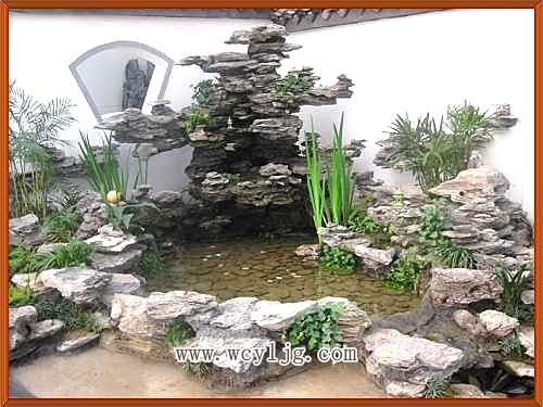 供应长沙假山水景设计—我材客户至上图片
