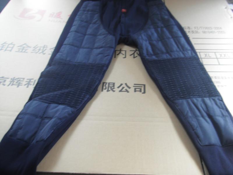 供应北京羽绒裤加厚纯棉麻灰批发