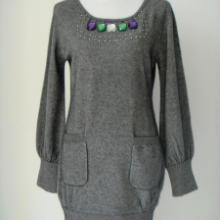 供应特价女士长款高档极佳保暖貂绒衫