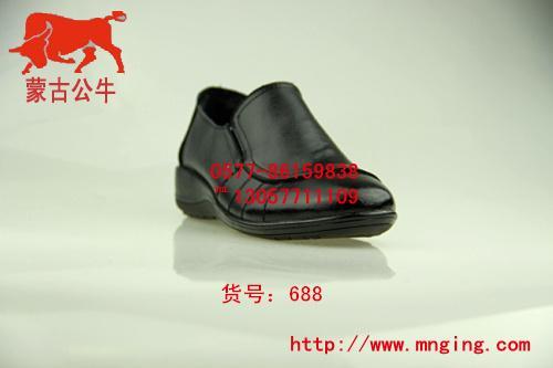 蒙古公主一脚蹬低帮女士皮鞋图片