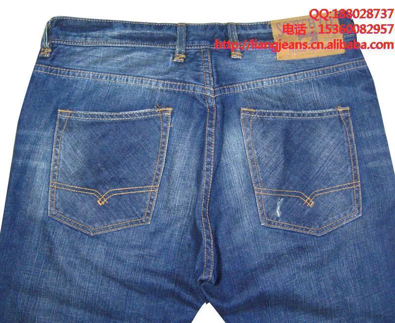 供应广州男式高档牛仔裤