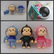 大嘴猴卡通u盘图片