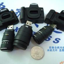 供应相机u盘 创意usb pvc材质优盘 最好的u盘工厂批发图片