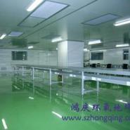 深圳电镀水池槽罐防腐车间地坪公司图片