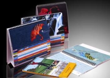 专业设计印刷台历挂历低价优惠图片