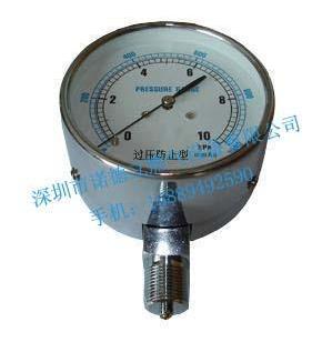 微压表10KPA径向轴向微压表图片