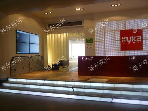 杭州顾家家居2组拼接屏 -一呼百应资讯频道图片