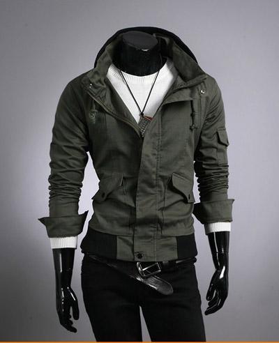 ... 让你更神秘感图片/黑色外套服装让你更神秘感样板图