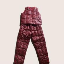 2011博迪奴最新款童装羽绒背心批发新款羽绒保暖内衣三件套批发