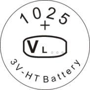 供应VL1025锂钒电池/钮扣式可充/广东,广州锂电池专业生产厂家