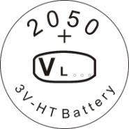 供应VL2050锂钒电池/钮扣式可充/广东,广州锂电池专业生产厂家