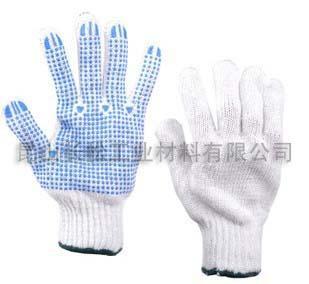 棉针织手套图片/棉针织手套样板图 (1)