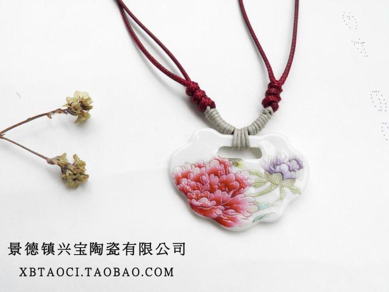 供应最潮日韩系陶瓷挂链