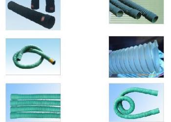 集风箱风栅连接用阻燃风管图片