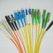 LC/SC/FC/ST单多模光纤跳线图片