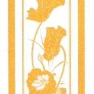 重庆钛金荷花彩色不锈钢蚀刻门花板图片
