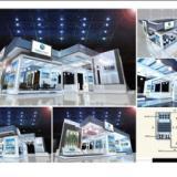 2011第五届中国国际航空电子及测试设备展 -展台设计和搭建