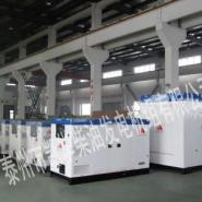 20KW韩国大宇静音发电机组图片