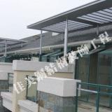 供应房屋加建平台雨篷、顶棚、钢结构玻璃、阳光板雨篷