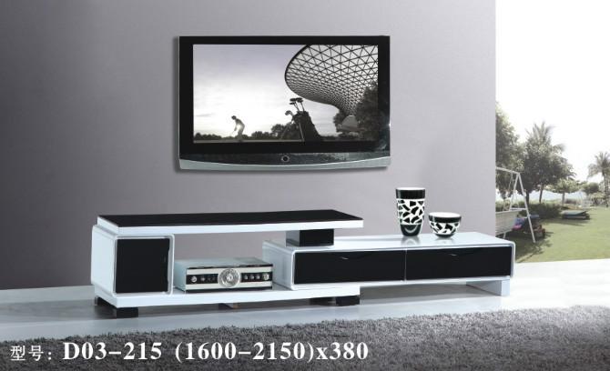 供应成都新款黑白色烤漆电视柜图片