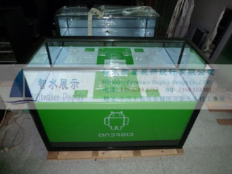 供应安卓系统经典款式手机展示柜台