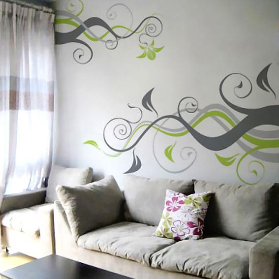 手绘沙发背景墙 手绘墙 手绘电视背景墙 手绘墙体彩绘 手绘