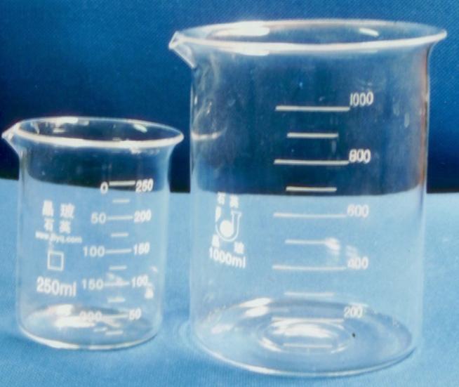 北京 石英/石英烧杯石英圆底烧瓶 我公司的生产各种石英烧杯石英试管石英...