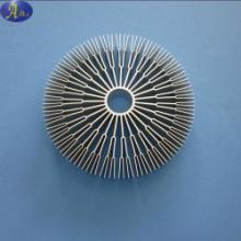 供应铝挤压散热器 铝挤压太阳花散热器