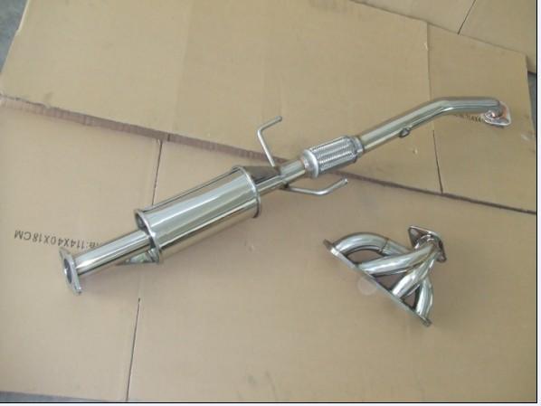 供应卡罗拉四二一芭蕉汽车改装排气管 尾喉 消音器 高清图片