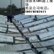 赣州市SBS改性沥青防水卷材施工图片