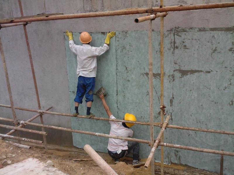板图 赣州市地下室剪力墙