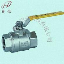 供应Q11F不锈钢内螺纹球阀图片