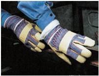 供应猪皮防寒手套保暖手套