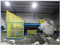 供应订做非标全自动金属切屑压块机/切削液回收再利用