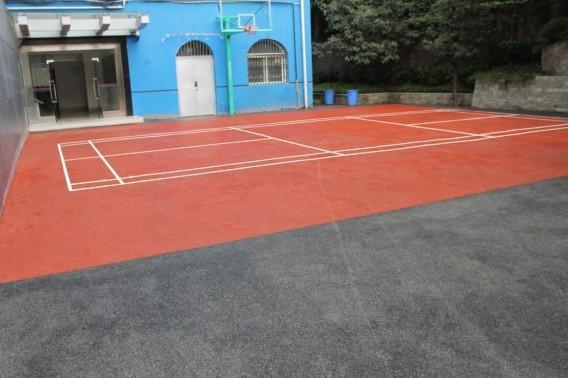 武汉彩色生态环保透水地坪销售
