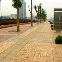 贵州金阳新区彩色压模混凝土