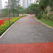 重庆市彩色透水艺术压模混凝土图片