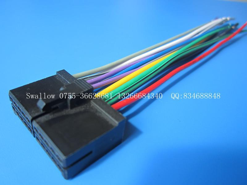 主机专用长城h3通用线cd线汽车音响改装线接线说明高清图片