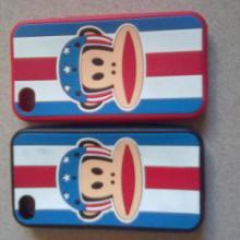 供应大嘴猴系列苹果手机套