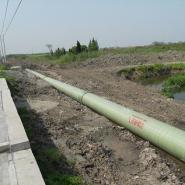 玻璃钢雨水管道/排水管道/夹砂管道图片