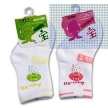 供应安缇纯棉宝宝婴儿袜子多色可选批发