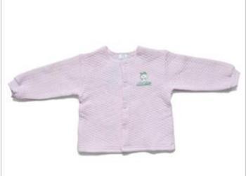 婴儿秋冬装纯棉前全开扣内衣秋衣图片