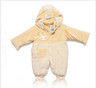 供应安缇宝宝冬装天鹅绒婴儿男女保暖