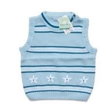 宝宝婴儿秋冬装衣服针织衫背心毛线衣